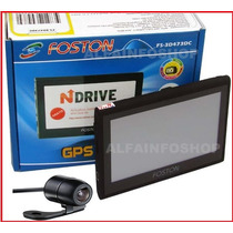 Gps Foston Fs-3d473dc Tela De 4.3 Com Câmera De Ré Tv 4gb