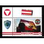 Selos Austria 2010 Onu Boina Azul Militar Força Paz Bandeira
