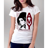 Camiseta Blusa Feminina Amy Winehouse