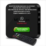 Aparelho Receptor Tv Smart Box Android 4k 4gb/32gb De Canais