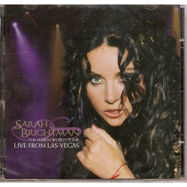 Cd Sarah Brightman - The Harem World Tour From Vegas - Novo*
