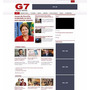 Template Portal De Noticias G1 Clone Wordpress