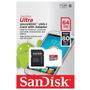 Cartão Micro Sdxc 64gb Ultra Sd Classe 10 80mb/s Garantia