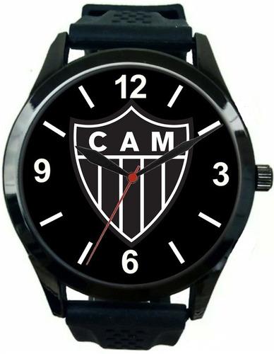 97cbf7156cd Relógio Masculino Pulso Esportivo Atlético Mineiro Barato