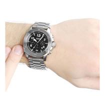Relógio Cronógrafo Fossil, Resiste À Água 100m - Fs4926/1pn