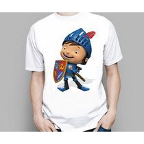 Camiseta Infantil Desenho Mike O Cavaleiro Discovery Kids