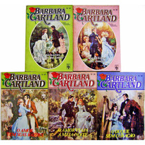 Lote 5 Livros Barbara Cartland - Florzinha