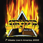 Stryper - 7 Weeks: Live In America ( Otimo Hard Rock )