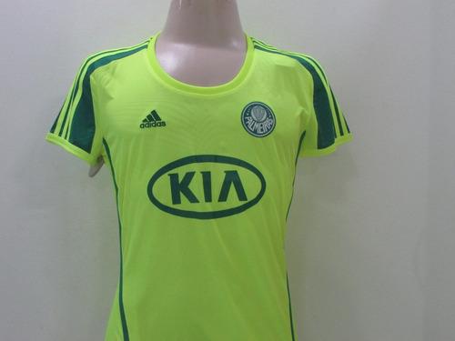 e32d760baf Camisa Palmeiras adidas Feminina Oficial 50% Off + Frete Off