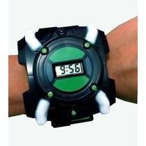 Relógio Digital Ben10 Com Luz E Som Ben 10