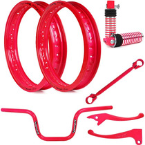 Kit Viper Aros Motard E Acessórios Para Titan 150 Esd - Pink