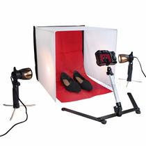 Mini Estudio Fotografico Portatil Easy 60x60 Cm 110 Volts