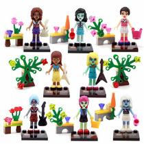 Lego Compatível Monster Monstrinhas Kit Com 8 Novo Lacrado