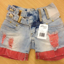 Shorts Rhero Jeans Claro Promoção