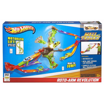 Pista Carrinhos Hot Wheels Wall Tracks Roto Arm Revolution