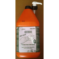 Creme Desengraxante Help Hand Citrus 4 Litros.
