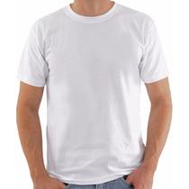 Camisetas 100% Poliéster Ideal Sublimação Atacado (10 Peças)