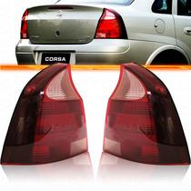 Lanterna Traseira Corsa Sedan 2008 2009 2010 2011 Rosa Par