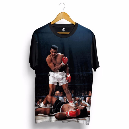 Camisa Muhammad Ali Cassius Klay Ringue Blusa Boxe Eua Usa