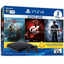 Ps4 Slim Sony 1tb 3 Jogos Bundi Com 2 Controles