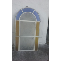 Janela Ferro Antiga Modelo Capela 75 Cm X 1.36