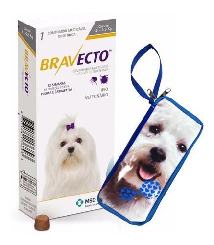 Antipulgas Bravecto De 2 A 4,5 Kg