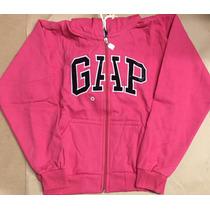 Blusa Moleton Gap Feminina Cor Pink Original Compre Logo