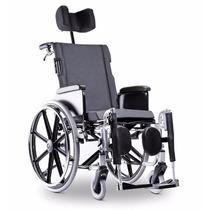 Cadeira De Rodas Aluminio Avd Reclinavel Ortobras Assento