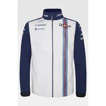 Nova Jaqueta Softshell Williams Martini Racing F1 Team 2015