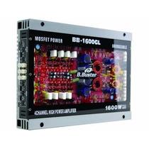 Amplificador B.buster 1600watts De Potencia E 4 Canais