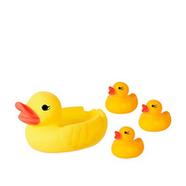 Patinho De Borracha P/banho - 4 Patinhos