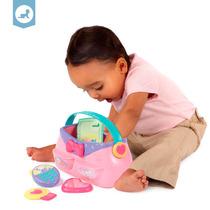 Brinquedo Bolsa Cheia De Acessórios Pretty In Pink Bright