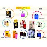 Kit Com 12 Perfumes Paris Elysees 100ml Originais E Lacrados