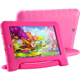 Tablet Multilaser Kids Pad Plus Rosa Infantil Nb279