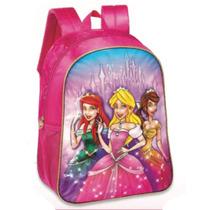 Mochila Escolar Costas Meninas Princesas Barata Pc6280c