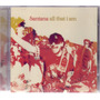 Santana 2005 All That I Am Cd Steven Tyler / Joss Stone Original