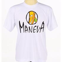 Camisa Camiseta Branca Estampada Banda Reggae Maneva