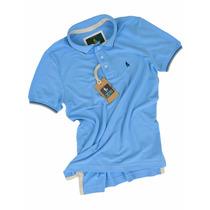 Camisa Polo Azul Jeans Sheepfyeld Qualid De Importada