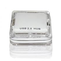 Hub Usb 2.0 Cristal - 4 Portas