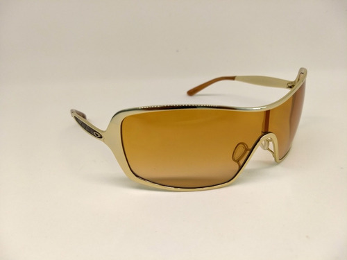 9f27a58ac Oculos De Sol Oakley Remedy Dourado 405301 Original + Brinde