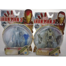 Miniaturas Iron Man 3 Original Hasbro Marvel Menino Brinqued