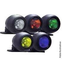 _farol Auxiliar Verde 50w 12v Com Lampada Dicroica Cod:29839