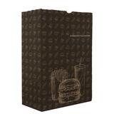 Saco Embalagem Delivery Extra Grande Lanche Fast Food - 100u