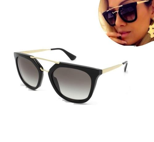 280fe4683 Óculos De Sol Feminino Blogueira Moda De Luxo Grande Promoçã