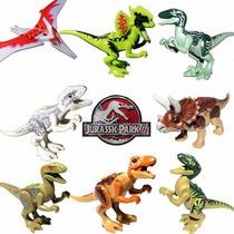Kit 8 Dinossauros Lego Jurassic World 100% Compatível- Novo