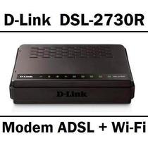 Modem Adsl2+ Roteador Wireless N D-link Dsl-2730r 150mbps