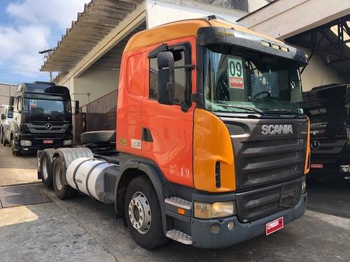 SCANIA G380 G 380 6X2 2009 TRUCADA= R420 G440 R380 FH380