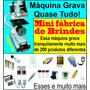 Máquina Grava Personaliza Canetas Canecas Brindes Em Geral