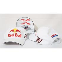 Boné Red Bull Lindo Corrida Motogp Oficial Marc Marquez Novo