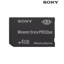 Cartão De Memória Sony Pro Duo 4gb